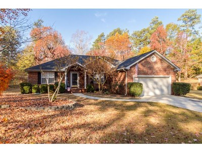 Martinez Single Family Home For Sale: 4747 Brookgreen Road