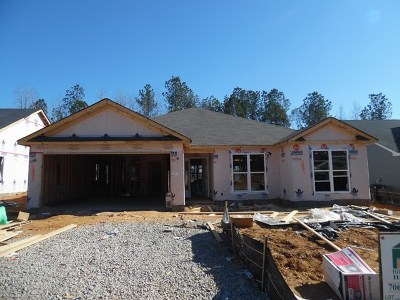 Grovetown Single Family Home For Sale: 3295 Alexandria Drive