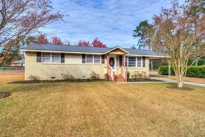 Aiken Single Family Home For Sale: 502 Chatham