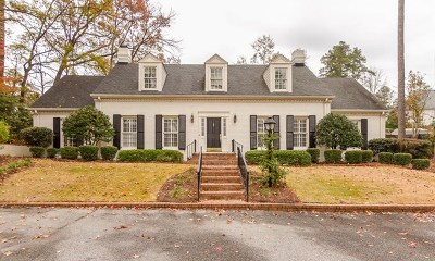 Augusta Single Family Home For Sale: 802 Camellia Road