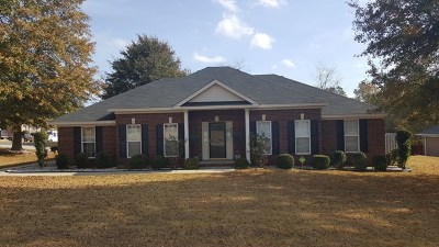 Hephzibah Single Family Home For Sale: 3202 Warwick Place