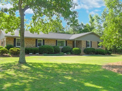 Aiken Single Family Home For Sale: 1918 Huckleberry Drive