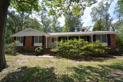 Augusta Single Family Home For Sale: 308 McCormick Road