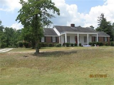 Dearing Single Family Home For Sale: 4761 Augusta Hwy