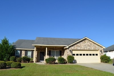 Grovetown Single Family Home For Sale: 1246 Creek Bend Drive
