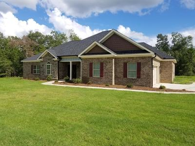 Richmond County Single Family Home For Sale: 3466 Walker Creek