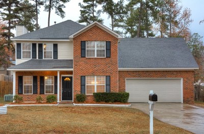 Grovetown Single Family Home For Sale: 4902 Luton Drive