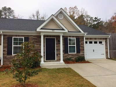 Augusta Single Family Home For Sale: 422 York Lane