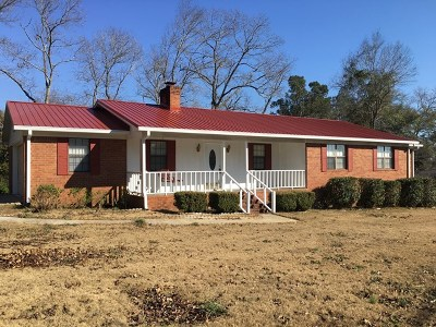 Richmond County Single Family Home For Sale: 2025 Liberty Church Road