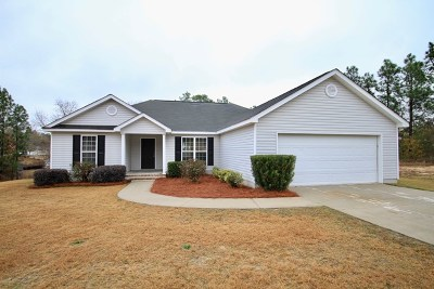 North Augusta Single Family Home For Sale: 712 Willow Lane