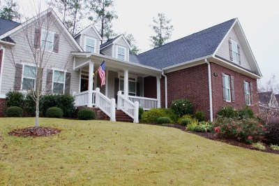 North Augusta Single Family Home For Sale: 133 Oakbrook Drive