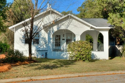 Augusta Single Family Home For Sale: 1105 Hogan Street