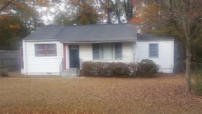 Augusta Single Family Home For Sale: 2809 Virginia Road