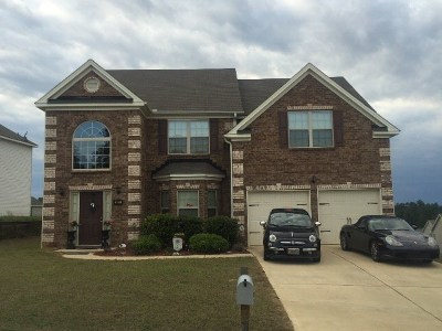 Augusta Single Family Home For Sale: 2611 Leland Drive