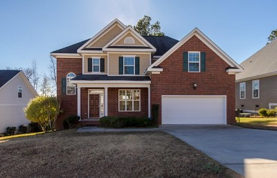 Evans Single Family Home For Sale: 1120 Hunters Cove