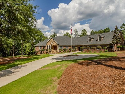 Aiken Single Family Home For Sale: 140 Oak Valley Lane