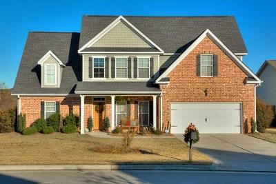 Evans Single Family Home For Sale: 1237 Berkley Hills Pass