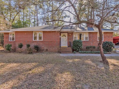 North Augusta Single Family Home For Sale: 1839 Bunting Drive