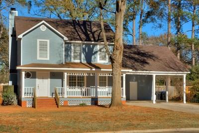 Augusta Single Family Home For Sale: 2445 Deodara