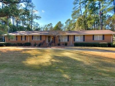 Augusta Single Family Home For Sale: 615 Regent Road