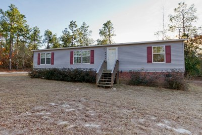 Richmond County Manufactured Home For Sale: 4438 Etterlee Road