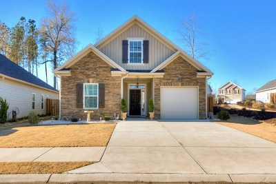 Grovetown Single Family Home For Sale: 420 Brantley Cove Circle