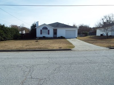 Grovetown Single Family Home For Sale: 460 Belglade Road
