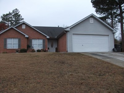 Richmond County Single Family Home For Sale: 4107 Burning Tree Lane