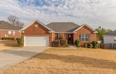 Grovetown Single Family Home For Sale: 4803 Orchard Hill Drive