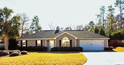 North Augusta Single Family Home For Sale: 5109 Silver Fox Way