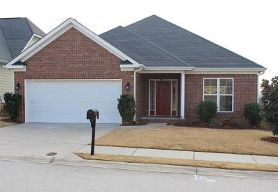 Evans Single Family Home For Sale: 2102 Red Maple Trace