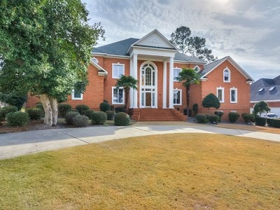 Evans GA Single Family Home For Sale: $649,000