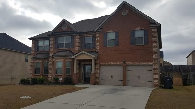 Augusta Single Family Home For Sale: 3419 Covington Court