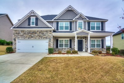 Grovetown Single Family Home For Sale: 258 Wentworth Place