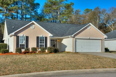 North Augusta Single Family Home For Sale: 467 Old Walnut Branch