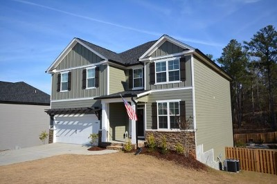 Evans Single Family Home For Sale: 4539 Willie Daniel Drive