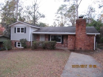 North Augusta Single Family Home For Sale: 2110 Vireo Drive