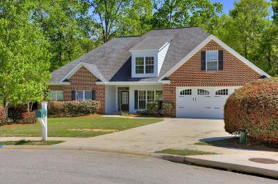 Evans Single Family Home For Sale: 952 Woody Hill Circle