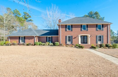 North Augusta Single Family Home For Sale: 1 Flintlock Drive