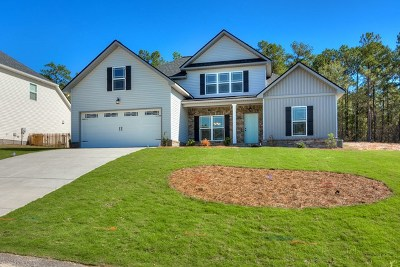 North Augusta Single Family Home For Sale: 206 Sweetwater Landing Drive