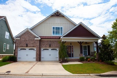 Evans Single Family Home For Sale: 875 Willow Lake