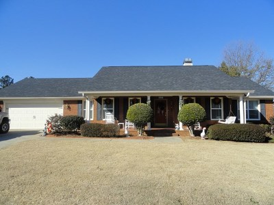 Evans Single Family Home For Sale: 4627 Oxford Drive