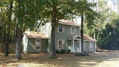 Evans Single Family Home For Sale: 572 Fairfield Way