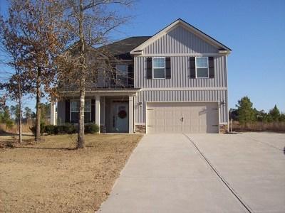 Aiken Single Family Home For Sale: 6109 Kiawah Trail