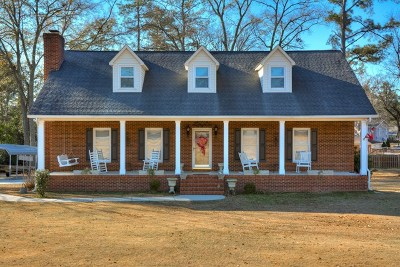 North Augusta Single Family Home For Sale: 564 Pearson Dr