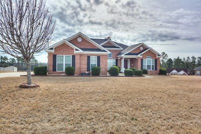 Hephzibah Single Family Home For Sale: 2004 Hagen Court