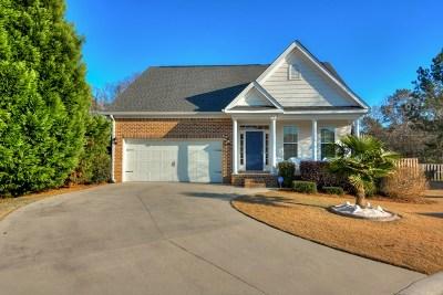 Evans Single Family Home For Sale: 725 Bonnie Oaks Lane