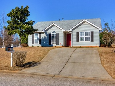Grovetown Single Family Home For Sale: 511 Cashel Road