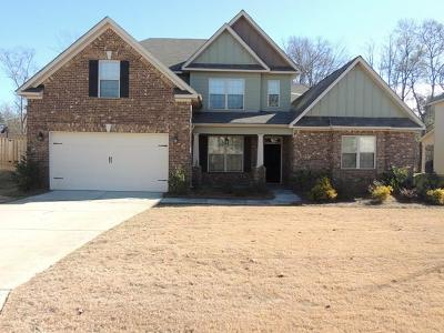 Single Family Home For Sale: 1141 Walton Pass