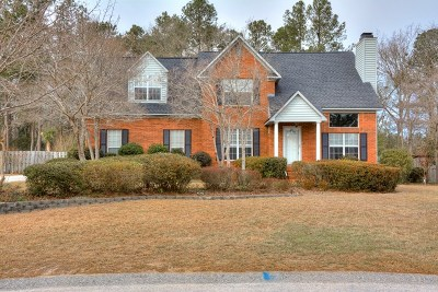 North Augusta Single Family Home For Sale: 3047 Maplewood Drive